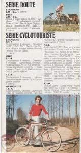 Catálogo motobecane bicis de los 60