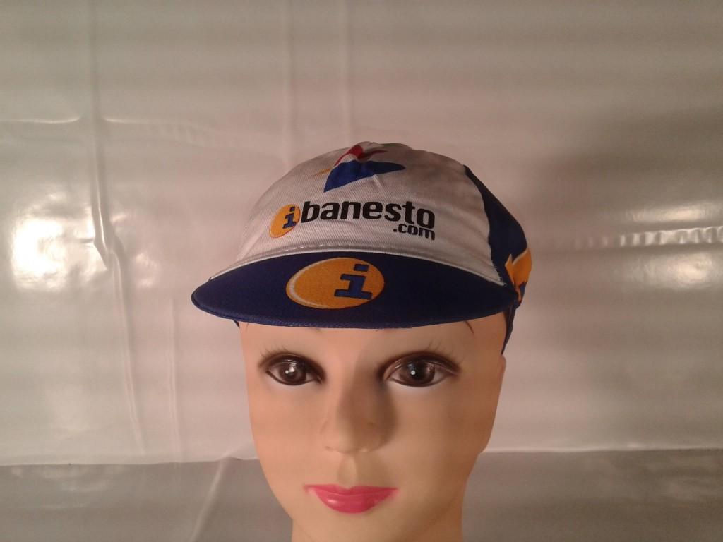 Gorra I-Banesto.com clásica