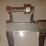 Tornillo BH cierre tija 8mm