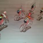 Ciclistas miniatura tour de francia